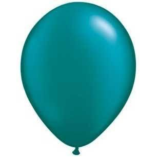 "11"" Latex Balloon, Teal Pearl available at Shop Sweet Lulu"
