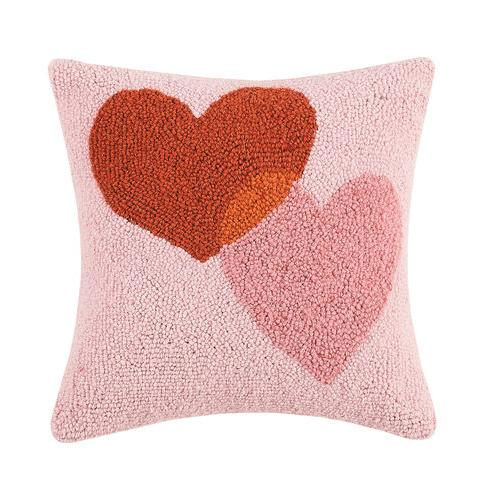 Heart Connection Hook Pillow
