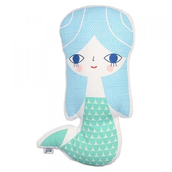 Cushion, Blue Mermaid