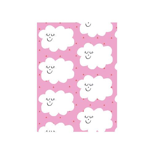 Petite Card - What Happy Clouds!