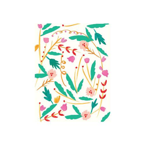 Petite Card - Jungle Flowers
