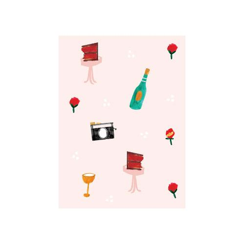 Petite Card - Birthday Icons