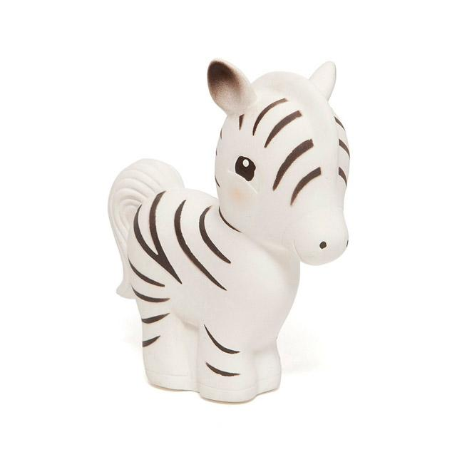 Zippy the Zebra - 100% natural rubber teether