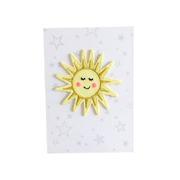 Sunshine Iron-On Patch