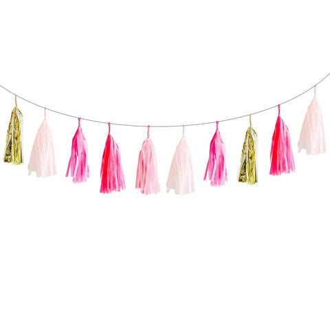 Lovely Lulu Tassel Garland