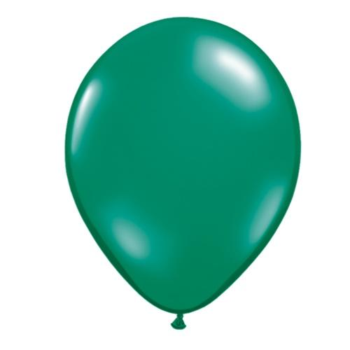 Latex Balloon, Emerald Green pearl