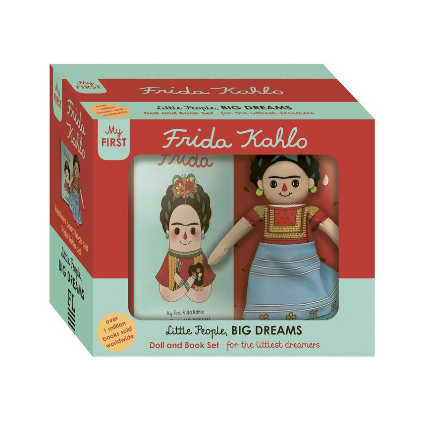 Frida Kahlo Doll and Book Set For the Littlest Dreamers