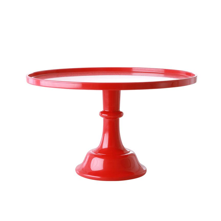 Cherry Red Melamine Cake Stand