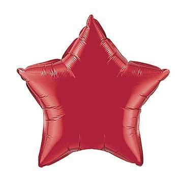 "20"" Red Foil Star Balloon"