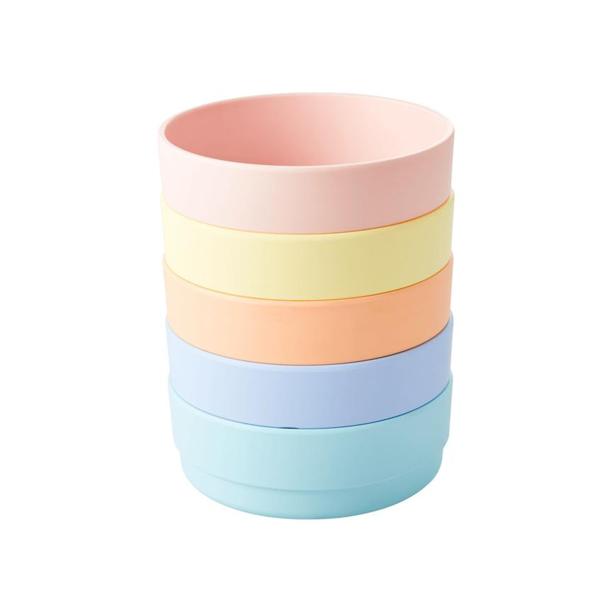 Yellow Pastel Melamine Bowl