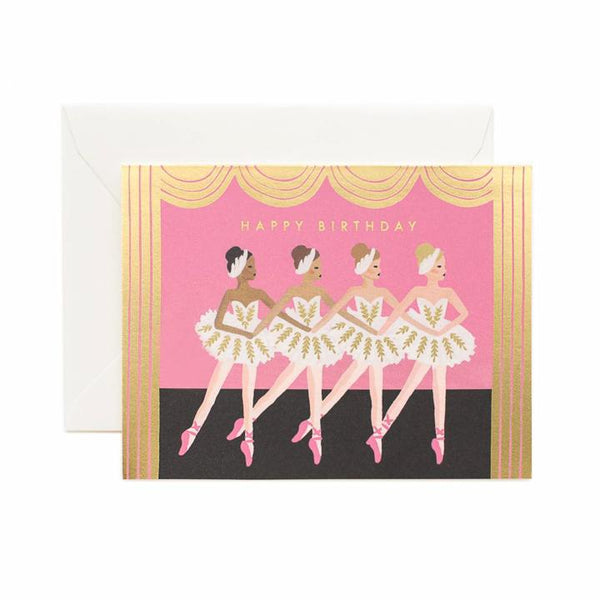Birthday Ballet Greeting Card