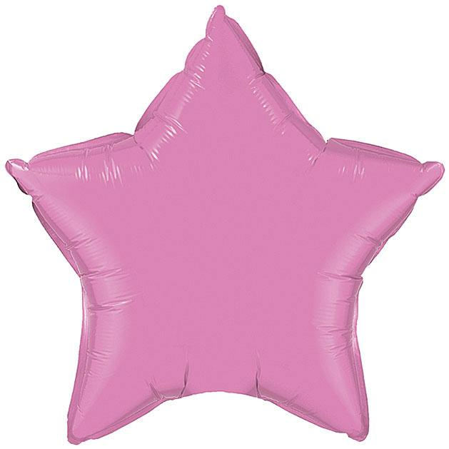 "20"" Rose Pink Foil Star Balloon available at Shop Sweet Lulu"