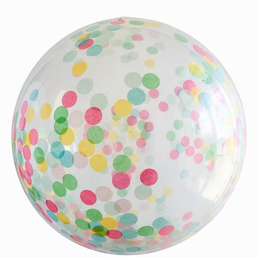 Jumbo Round Confetti Balloon: It's a Party available at Shop Sweet Lulu