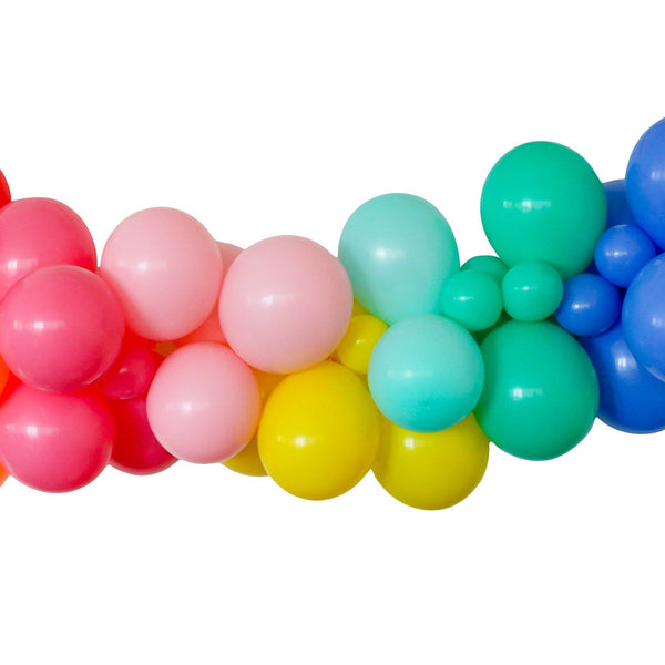 Color Wheel Balloon Garland Kit