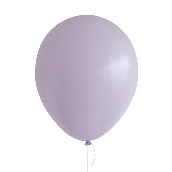 "11"" Latex Balloon, Pastel Matte Lilac"