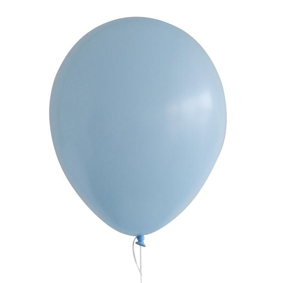 "11"" Latex Balloon, Pastel Matte Blue"