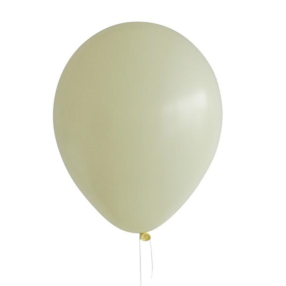 Latex Balloon, Pastel Matte Yellow