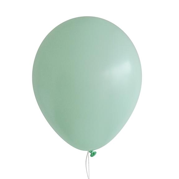 "11"" Latex Balloon, Pastel Matte Green"