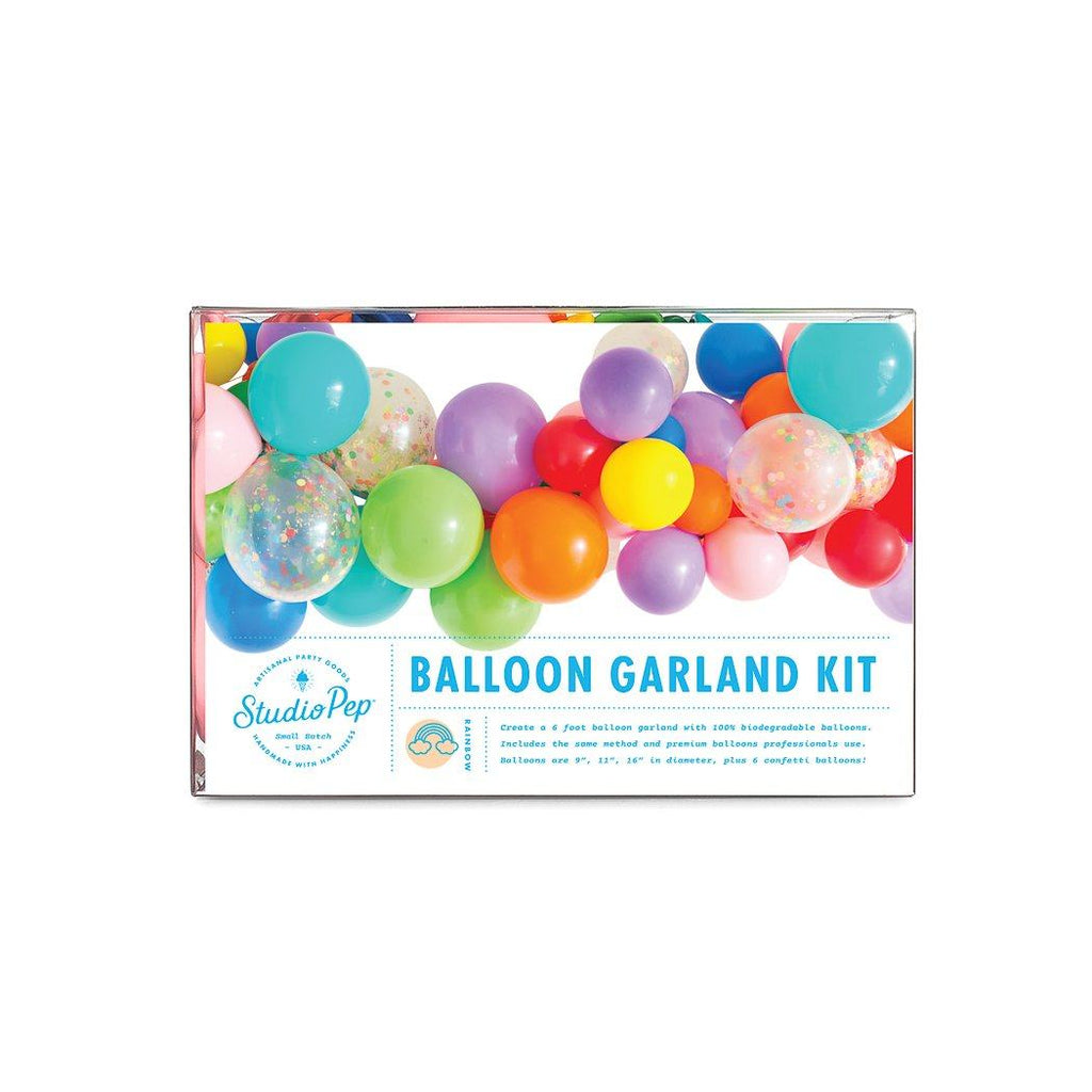 Balloon Garland Kit, Rainbow Collection