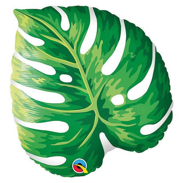 "21"" Foil Balloon, Tropical Leaf"