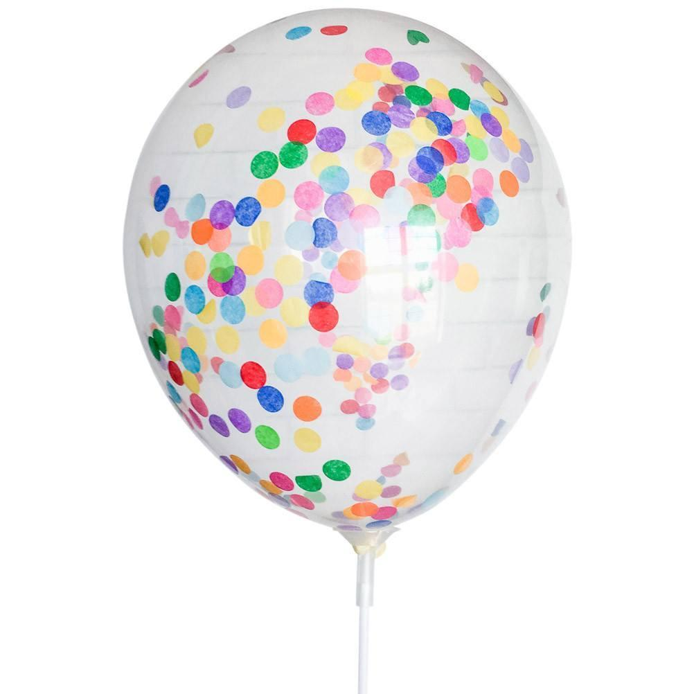 "11"" Multicolor Tiny Confetti Balloon available at Shop Sweet Lulu"
