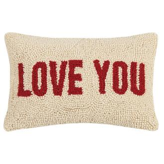 Love You Hook Pillow