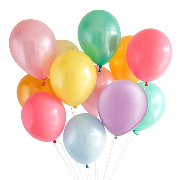 Pastel Rainbow Balloon Mix available at Shop Sweet Lulu