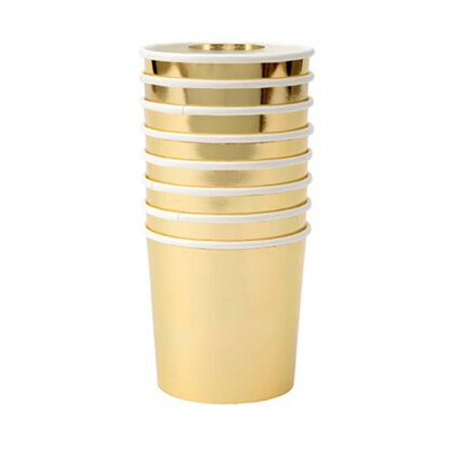 Gold Tumbler Cups