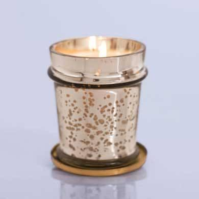 Mercury Glass Candle with Lid: Volcano available at Shop Sweet Lulu