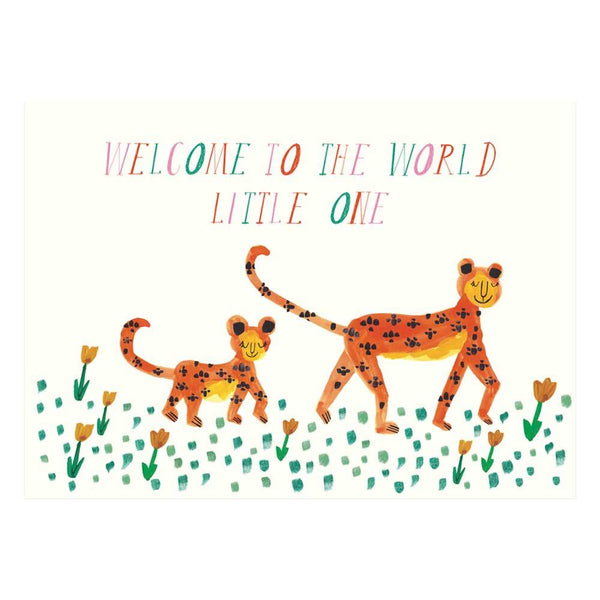 Welcome to The World - Greeting Card available at Shop Sweet Lulu