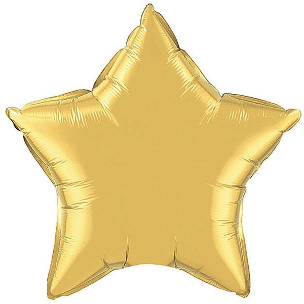 "36"" Gold Foil Star Balloon available at Shop Sweet Lulu"