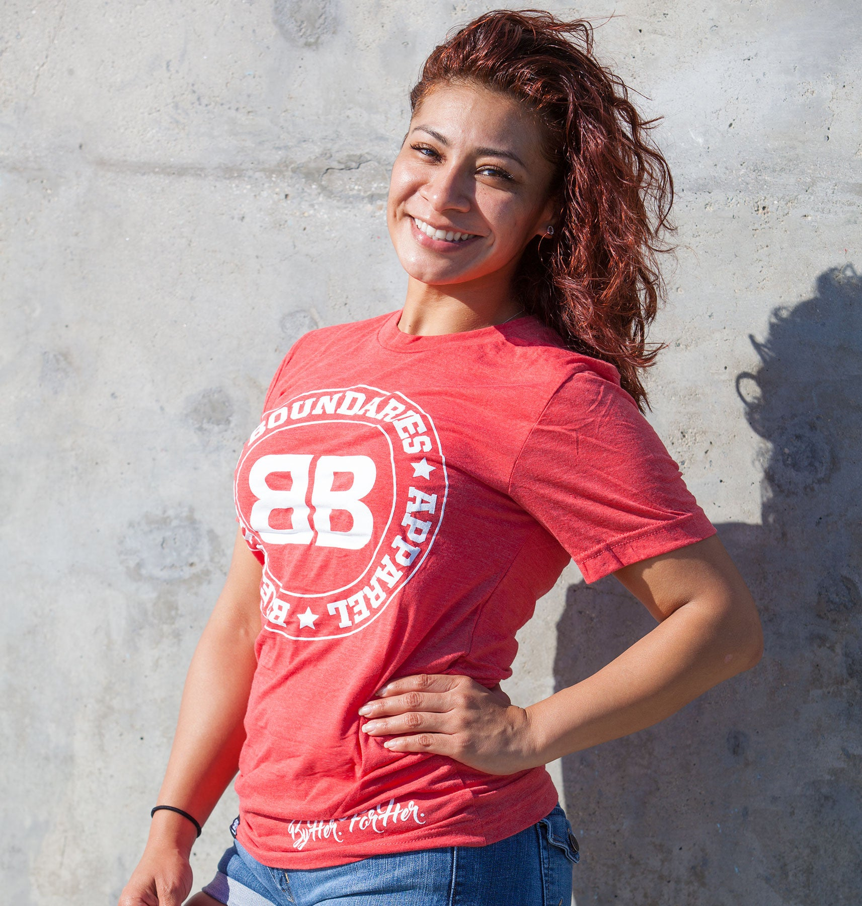 BBA Red Tri-blend Tee - Breaking Boundaries Apparel  - 2