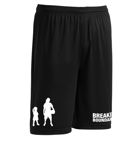 Evolution Performance Shorts - Women's Basketball - Breaking Boundaries Apparel  - 1