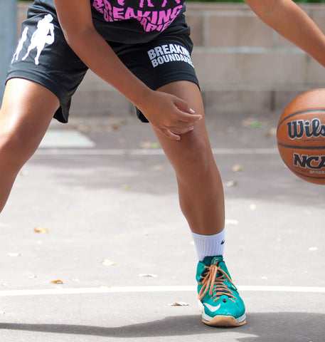 Evolution Performance Shorts - Women's Basketball - Breaking Boundaries Apparel  - 2