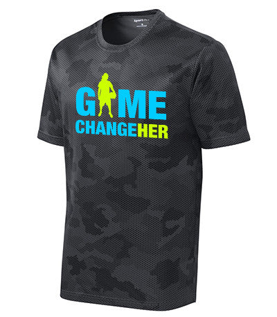 Game ChangeHER - Basketball (BK camo) - Breaking Boundaries Apparel