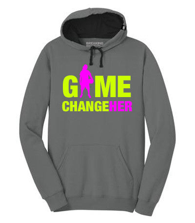 Game ChangeHER Hoodie - Basketball - Breaking Boundaries Apparel