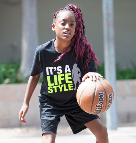 It's a Lifestyle Tee - Women's Basketball - Breaking Boundaries Apparel  - 2
