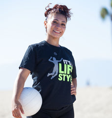 It's a Lifestyle Tee - Volleyball - Breaking Boundaries Apparel  - 2