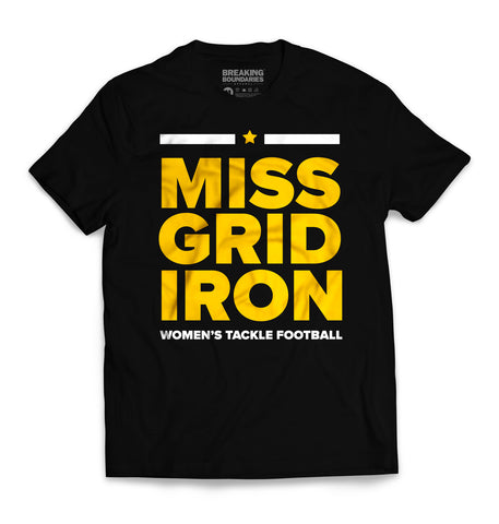 Evolution Tee - Women's Football (Black/Gold)