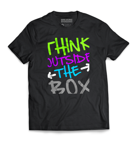 Think Outside The Box Tee - Breaking Boundaries Apparel  - 1