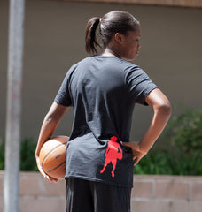 Straight Outta Practice Tee - Women's Basketball - Breaking Boundaries Apparel  - 3