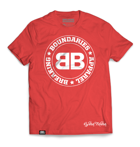 BBA Red Tri-blend Tee - Breaking Boundaries Apparel  - 1