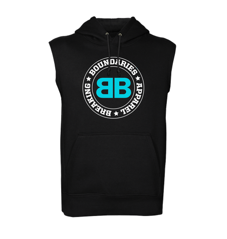 BBA Sleeveless Hoodie - Breaking Boundaries Apparel  - 1