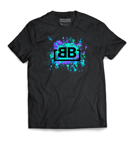 BBA White/Camo V-neck