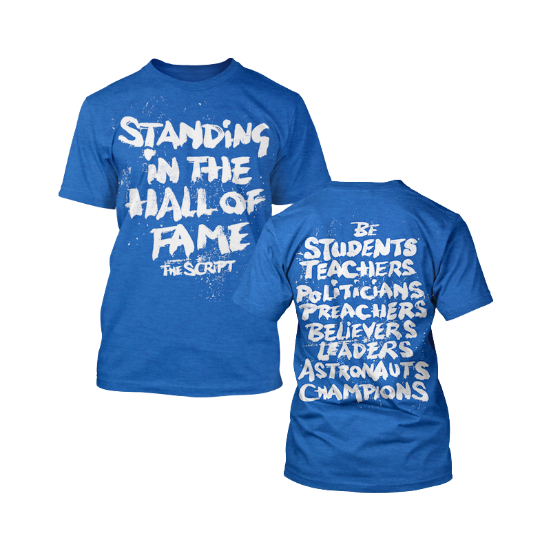 Hall of Fame Tee - The Script US Store
