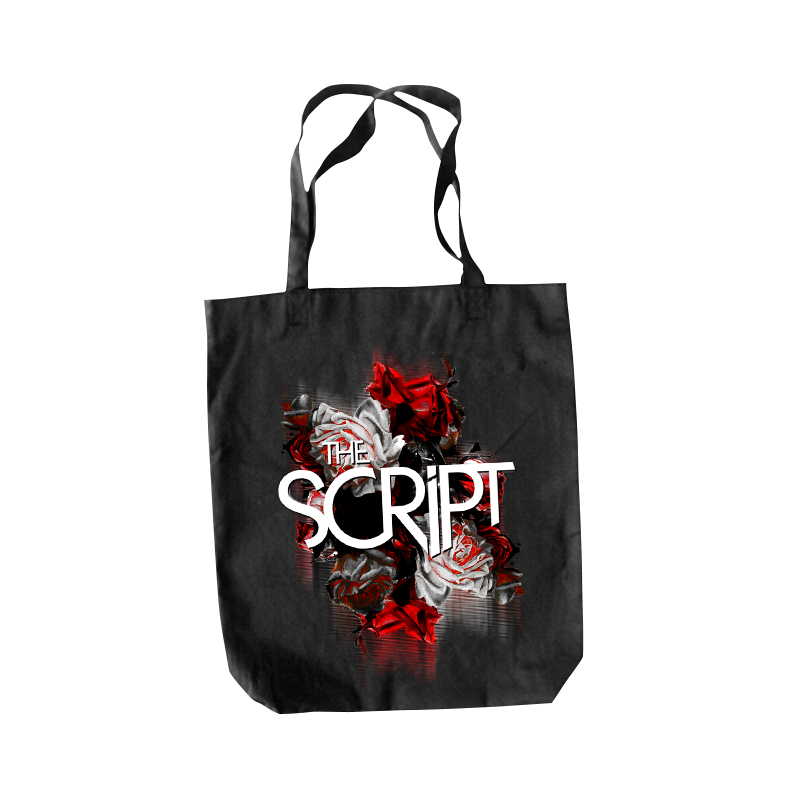 Blurred Roses Tote - The Script US Store