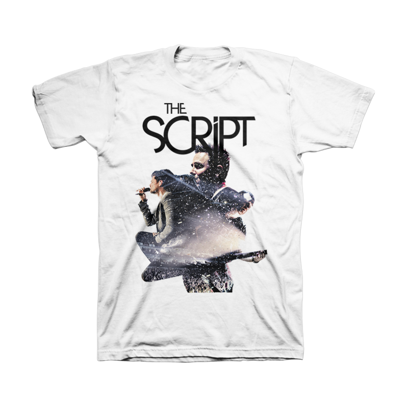 Event Collage Tee - The Script US Store
