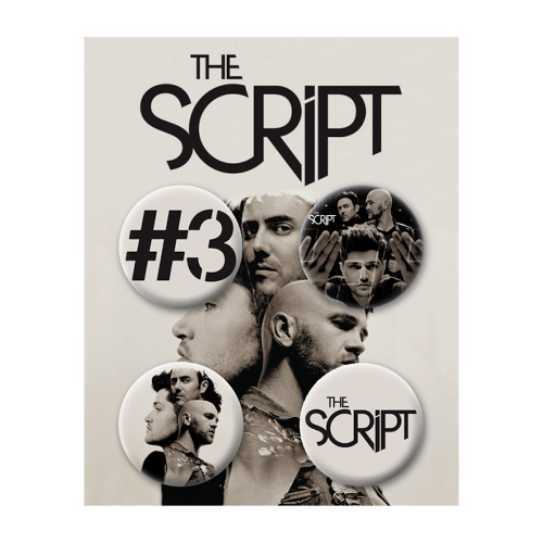Button Pack - The Script US Store
