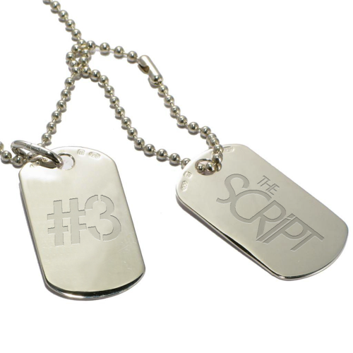 Dog Tags - The Script US Store
