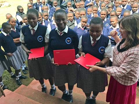 Spoolies Kenya Girls High School Laptop Donation